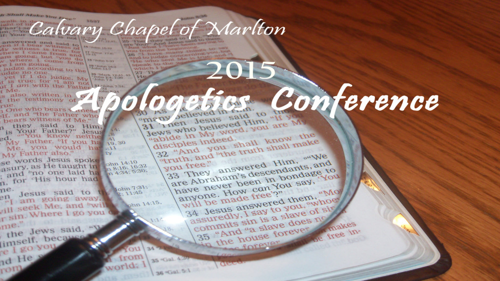 2015Apologetics Conference
